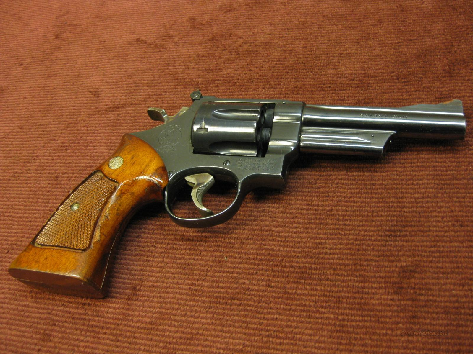 SMITH & WESSON 27-2 .357MAG., 5-INCH BLUE - EXCELLENT !  Guns > Pistols > Smith & Wesson Revolvers > Full Frame Revolver