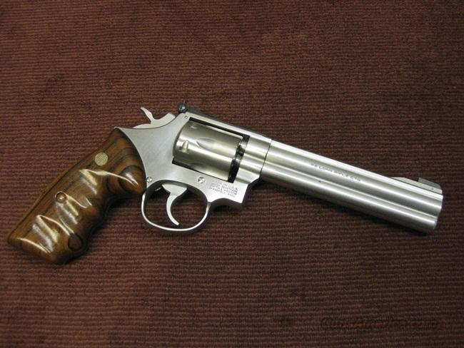 SMITH & WESSON 617 (PRE DASH) 6-SHOT - .22LR - 6-INCH - EXCELLENT   Guns > Pistols > Smith & Wesson Revolvers > Full Frame Revolver