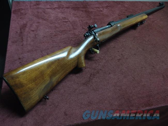WINCHESTER MODEL 70 - PRE-64 - 30-06 - 1955 - MATCH - TARGET - SNIPER - U.S. PROPERTY MARKED - EXCELLENT  Guns > Rifles > Winchester Rifles - Modern Bolt/Auto/Single > Model 70 > Pre-64