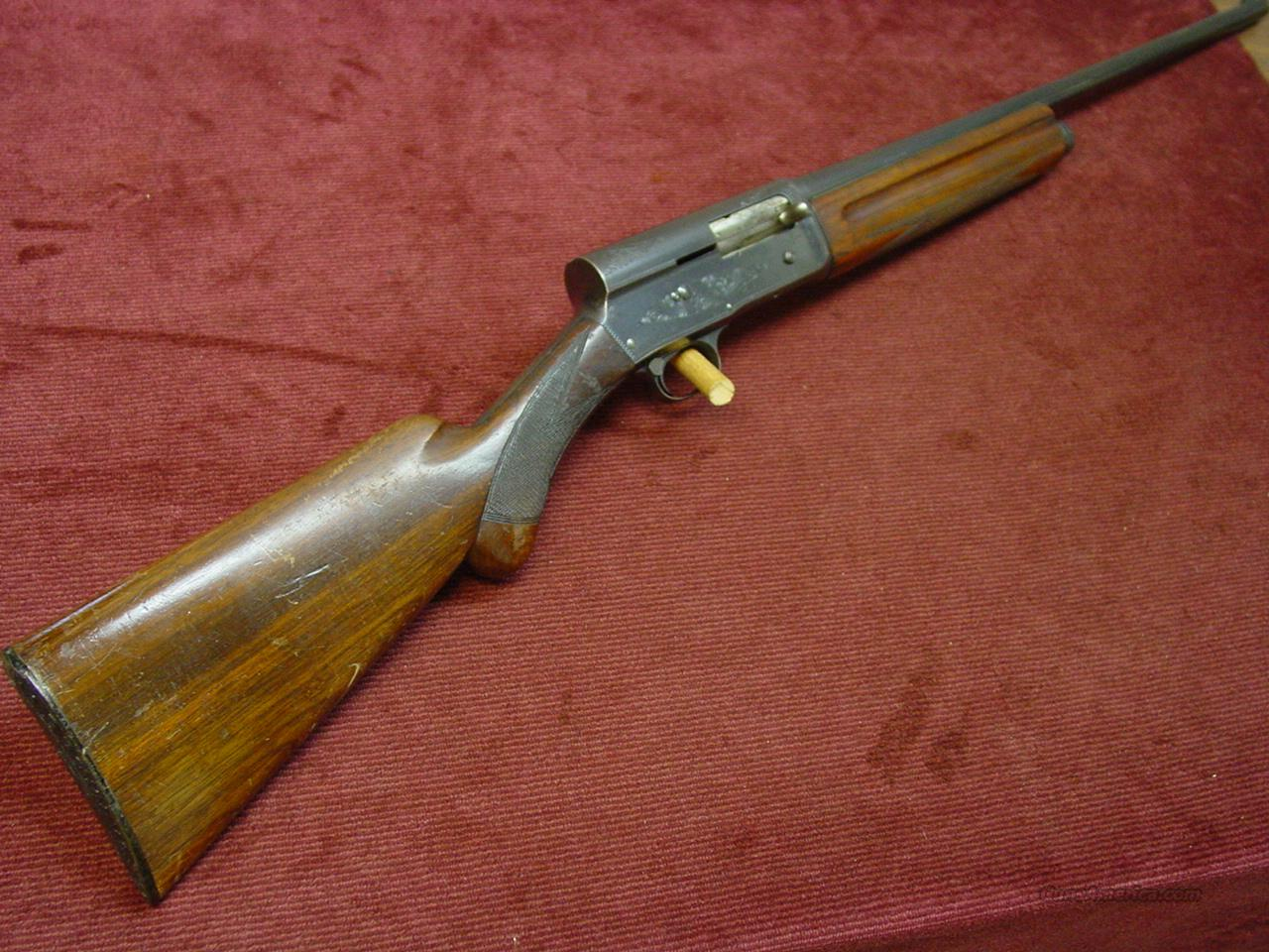 BROWNING AUTO-5 16GA. 26-INCH IMP. CYL. - MADE IN 1954  Guns > Shotguns > Browning Shotguns > Autoloaders > Hunting