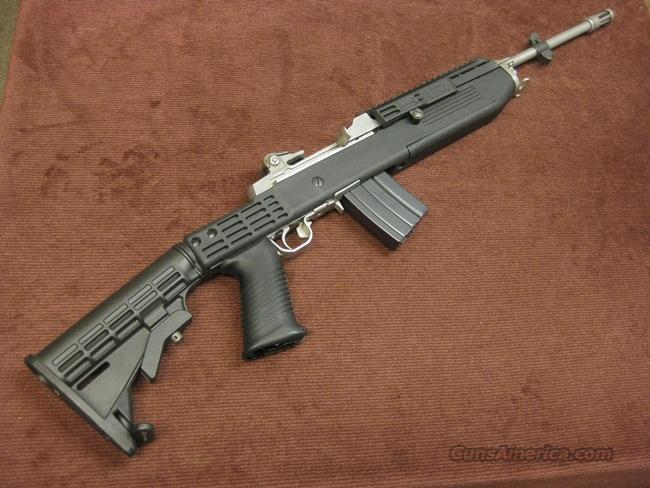 RUGER MINI-14 GB .223 TACTICAL LAW ENFORCEMENT - STAINLESS - TAPCO COLLAPSIBLE  Guns > Rifles > Ruger Rifles > Mini-14 Type
