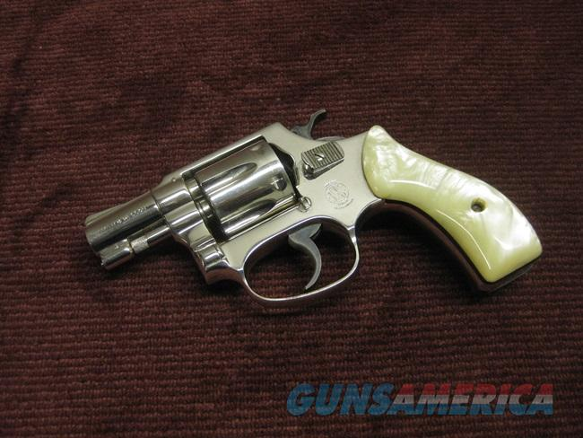 SMITH & WESSON MODEL 30 .32 LONG - FLAT LATCH - NICKEL - EXCELLENT  Guns > Pistols > Smith & Wesson Revolvers > Pocket Pistols