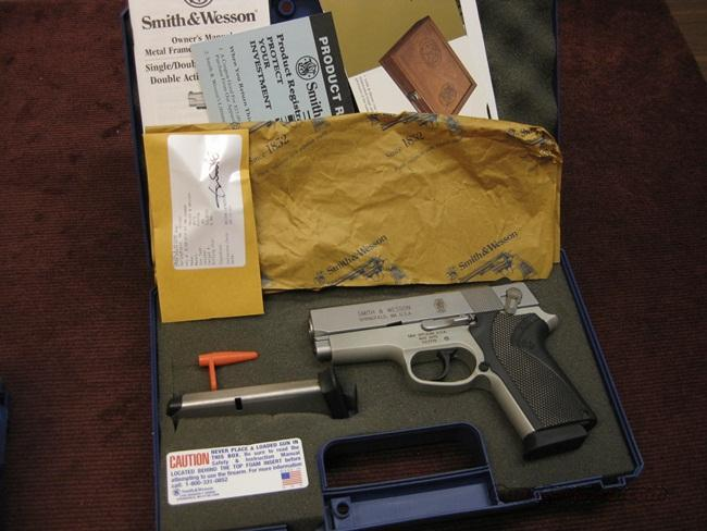 SMITH & WESSON 457S COMPACT .45ACP - AS NEW IN BOX  Guns > Pistols > Smith & Wesson Pistols - Autos > Alloy Frame
