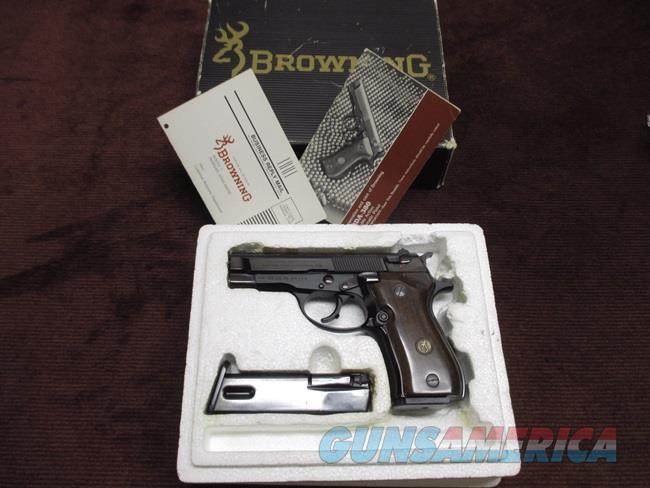 BROWNING BDA .380 - EXCELLENT WITH BOX & EXTRA MAGAZINE  Guns > Pistols > Browning Pistols > Other Autos
