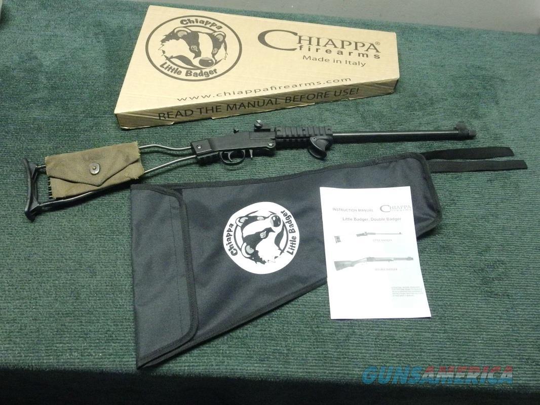 CHIAPPA LITTLE BADGER .22LR - AS NEW IN BOX  Guns > Rifles > Chiappa / Armi Sport Rifles > .22 Cal Rifles