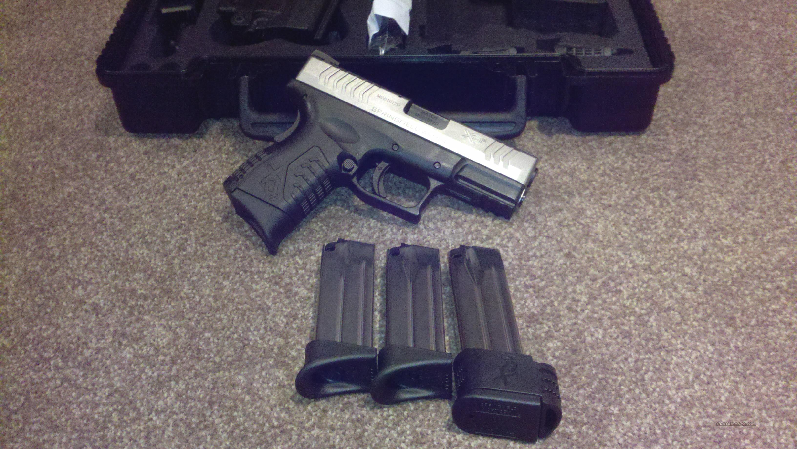 "Springfield Armory XD(M) 3.8"" 9mm Two Toned  Guns > Pistols > Springfield Armory Pistols > XD (eXtreme Duty)"