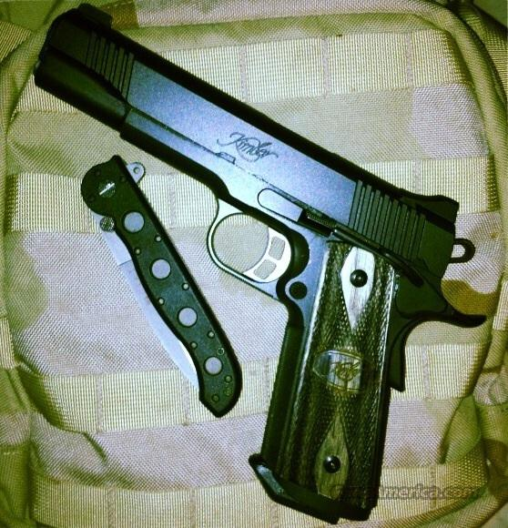 Kimber 1911 Tactical Custom HD II with Four 8rd Mags, never fired  Guns > Pistols > 1911 Pistol Copies (non-Colt)