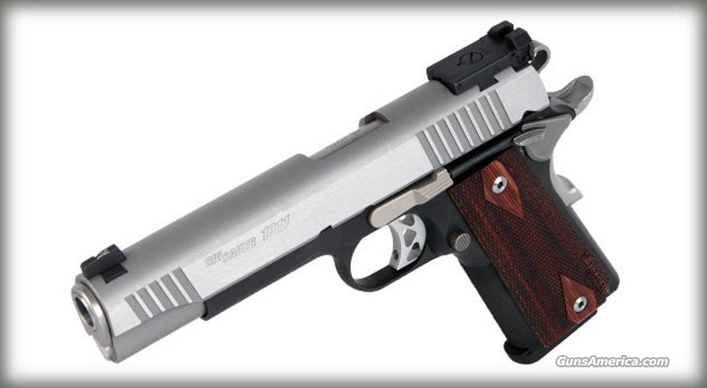 SIG SAUER 1911 Trad Match Elite.45ACP !!!NEW!!!LAYAWAY!!!!  Guns > Pistols > Sig - Sauer/Sigarms Pistols > 1911