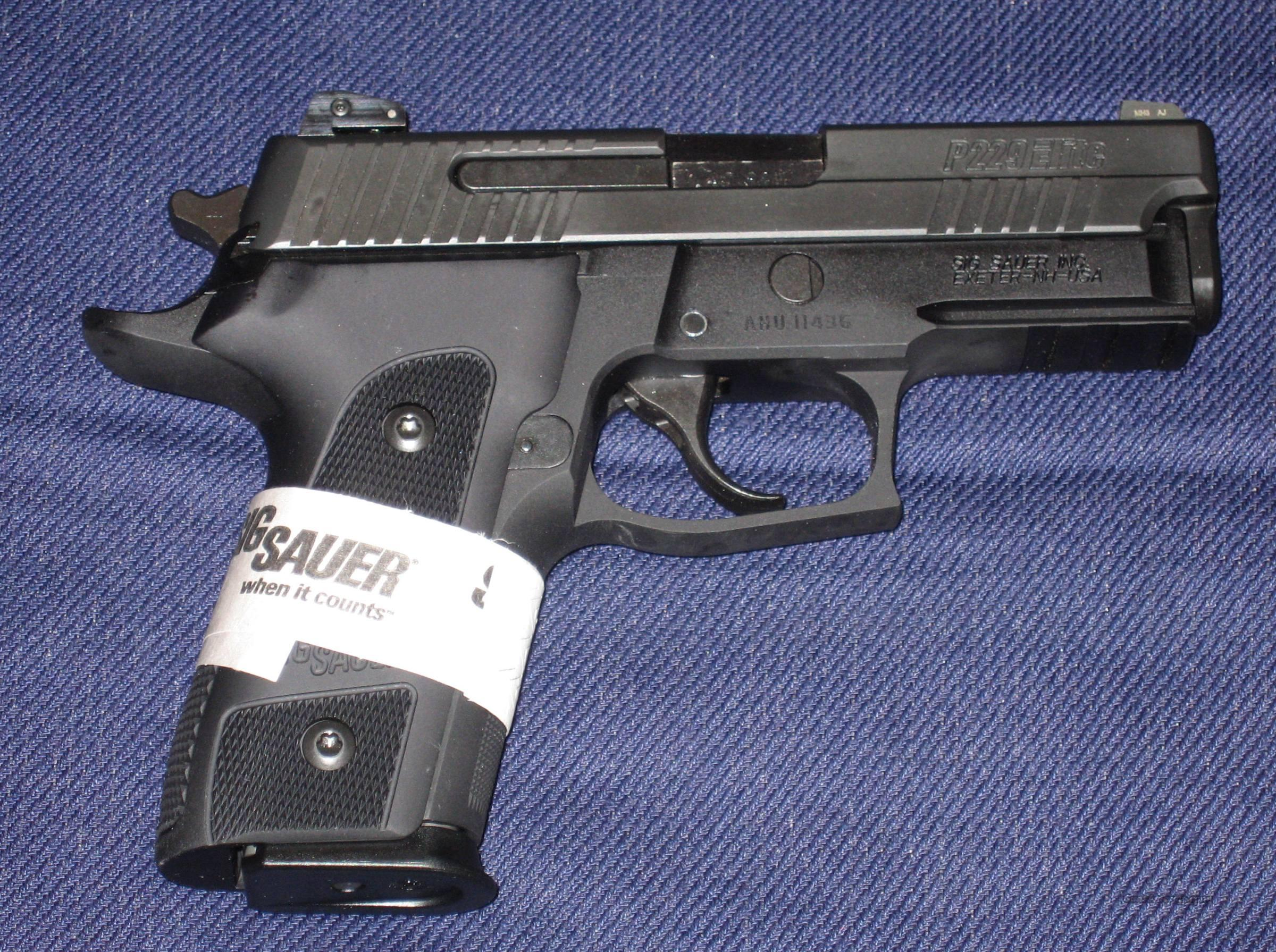SIG P229 Dark Elite in .40 cal. !!!NEW!!!LAYAWAY!!!  Guns > Pistols > Sig - Sauer/Sigarms Pistols > P229