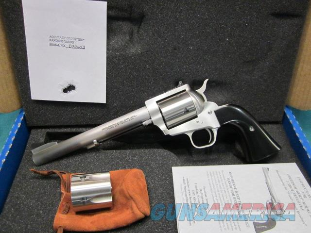 "Freedom Arms Model 83 Premier DUAL Cylinder .454Casull/.45Acp. 7 1/2"" New in box  Guns > Pistols > Freedom Arms Pistols"