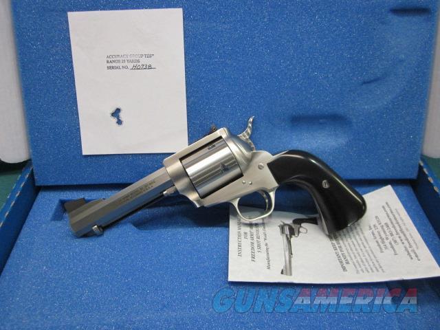 "Freedom Arms Model 83 Premier.357 Mag. 4 3/4"" Round butt OCTAGON NIB  Guns > Pistols > Freedom Arms Pistols"
