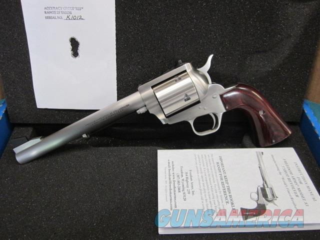 "Freedom Arms Model 83 Premier .475 Linebaugh 7 1/2""  New in box  Guns > Pistols > Freedom Arms Pistols"