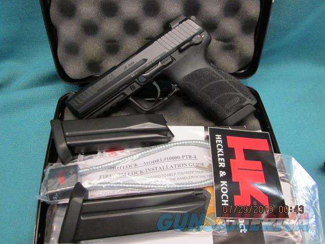 """Heckler & Koch HK45 -V1 """"LE"""" model with Night sights & 3Mags.   Guns > Pistols > Heckler & Koch Pistols > Polymer Frame"""
