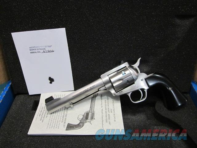 "Freedom Arms model 97 Premier .357 Mag. 5 1/2"" Fluted  Express sights NIB  Guns > Pistols > Freedom Arms Pistols"