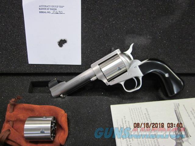 "Freedom Arms Model 97 Premier Dual Cylinder .45LC/.45ACP 4 1/4"" Round butt NIB  Guns > Pistols > Freedom Arms Pistols"