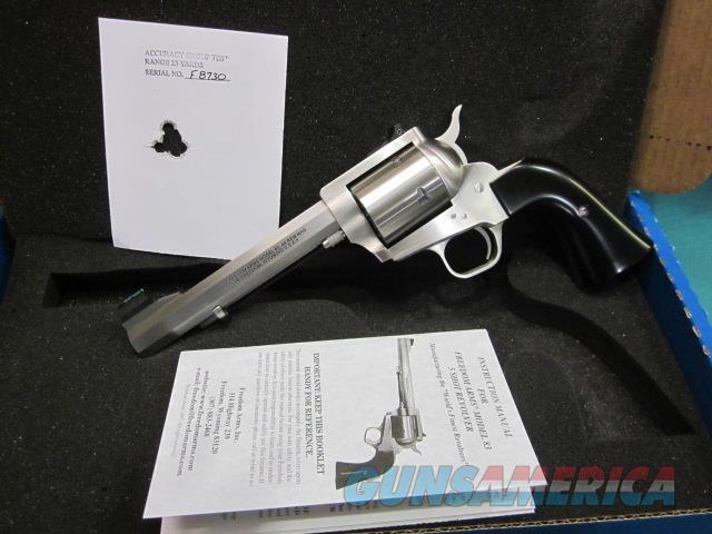 "Freedom Arms Model 83 Premier .44Mag. 6"" OCTAGON NIB  Guns > Pistols > Freedom Arms Pistols"