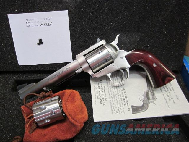 "Freedom Arms model 97 Premier .357 Mag./.38 Special DUAL cylinder 5 1/2"" NIB  Guns > Pistols > Freedom Arms Pistols"