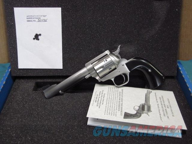 "Freedom Arms Model 97 premier .327 Federal 5"" Ruond butt Fluted New in box  Guns > Pistols > Freedom Arms Pistols"