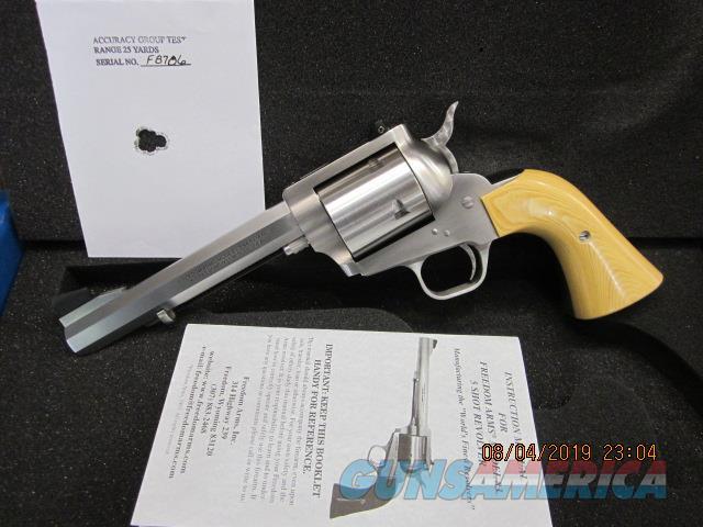 "Freedom Arms Model 83 Premier .44Mag. 6"" OCTAGON-Tan Micarta NIB  Guns > Pistols > Freedom Arms Pistols"