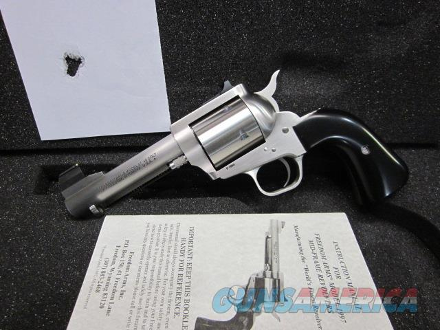 "Freedom Arms Model 97 Premier .45LC. 41/4"" Round Butt New in box  Guns > Pistols > Freedom Arms Pistols"
