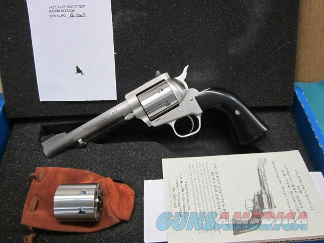"Freedom Arms Model 97 Premier DUAL Cylinder .22LR./.22Mag. 5 1/2"" New in box  Guns > Pistols > Freedom Arms Pistols"