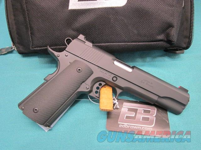 Ed Brown Special Forces .45acp Black Gen 4 New in pouch  Guns > Pistols > Ed Brown Pistols