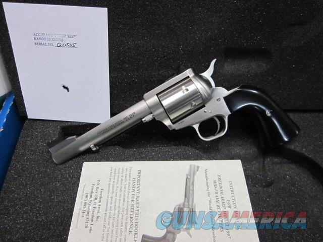"Freedom Arms Model 97 premier .22LR. 5 1/2"" New in box  Guns > Pistols > Freedom Arms Pistols"
