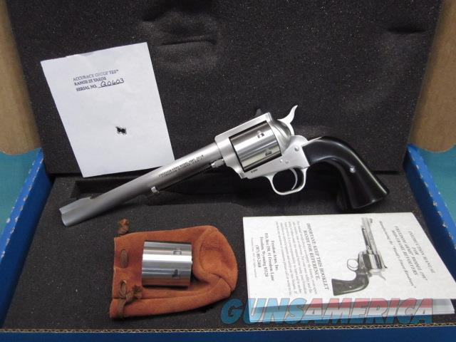 """Freedom Arms Model 97 Premier DUAL Cylinder .22LR./.22Mag. 7 1/2"""" New in box  Guns > Pistols > Freedom Arms Pistols"""