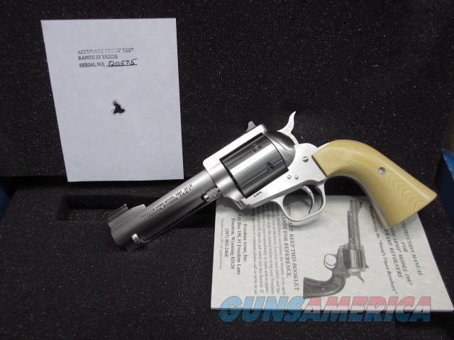 "Freedom Arms Model 97 Premier  .22LR. 4 1/4"" Tan Grip- Express sights- New in box  Guns > Pistols > Freedom Arms Pistols"