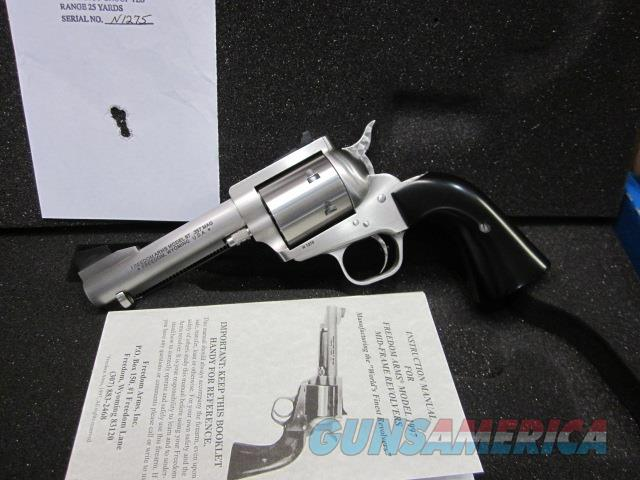 """Freedom Arms Model 97 Premier.357 Mag. 4 1/4"""" New in box  Guns > Pistols > Freedom Arms Pistols"""