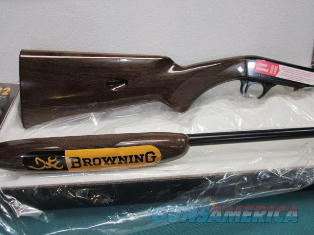 Browning semi auto .22LR. New in box  Guns > Rifles > Browning Rifles > Semi Auto > Hunting