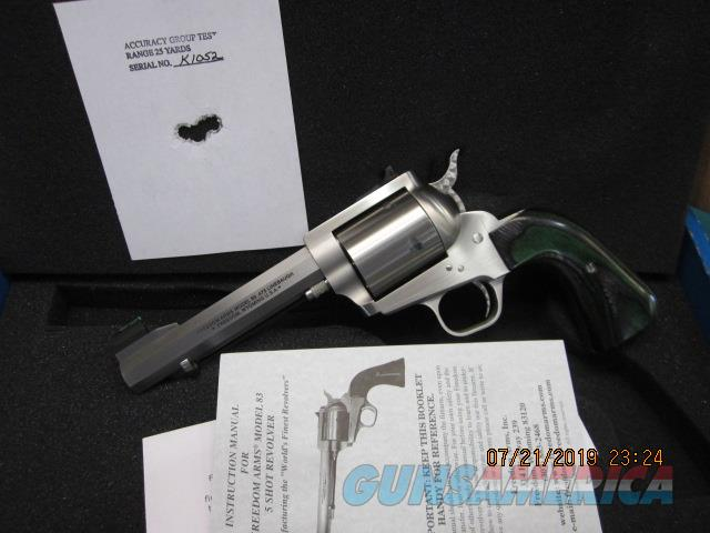 "Freedom Arms Model 83 Premier .475 Linebaugh 5 1/4"" Octagon New in box  Guns > Pistols > Freedom Arms Pistols"