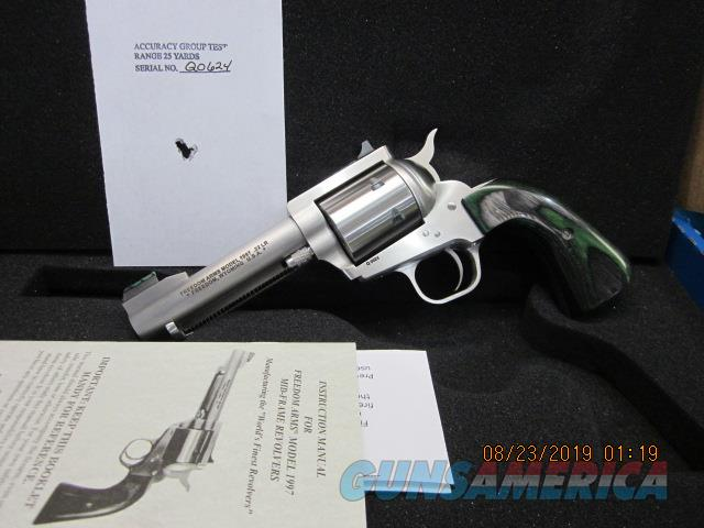 "Freedom Arms Model 97 Premier .22LR. 4 1/4"" Round Butt New in box  Guns > Pistols > Freedom Arms Pistols"