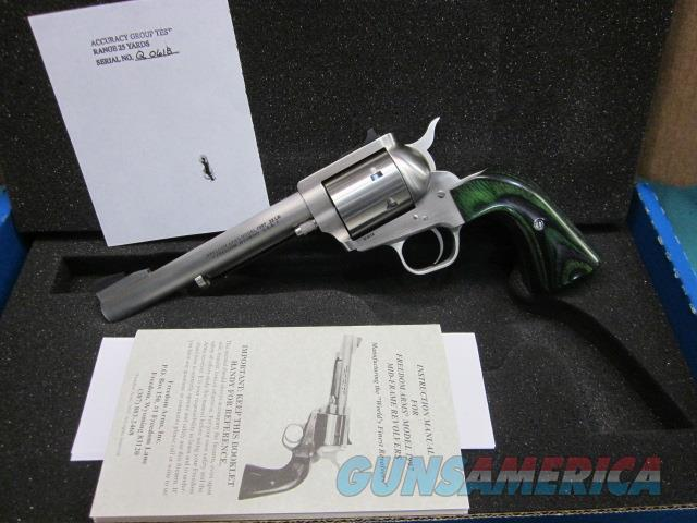 "Freedom Arms model 97 Premier .22 LR Custom 6"" NIB  Guns > Pistols > Freedom Arms Pistols"