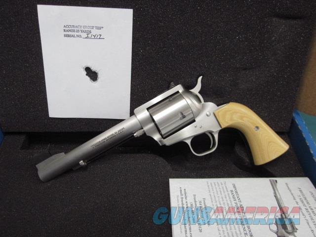 """Freedom Arms Model 83 Premier .500 Wyoming 6"""" Tan grips New in box  Guns > Pistols > Freedom Arms Pistols"""