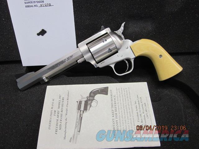 "Freedom Arms Model 97 Premier .357 Mag. 5 1/2"" OCTAGON  NIB  Guns > Pistols > Freedom Arms Pistols"