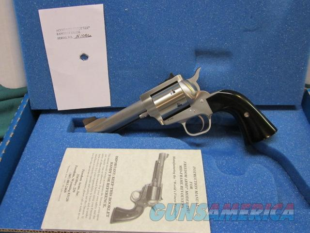 "Freedom Arms model 97 Premier .357mag. 4 1/4"" new in box  Guns > Pistols > Freedom Arms Pistols"