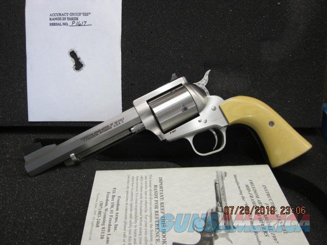 "Freedom Arms Model 97 Premier .45LC 51/2"" OCTAGON ""OPTIONS"" NIB  Guns > Pistols > Freedom Arms Pistols"