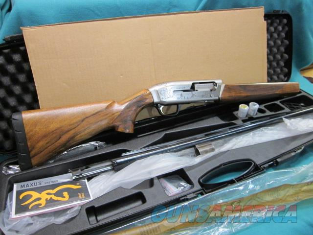 "Browning Maxus Ultimate 12ga. 26"" New in box  Guns > Shotguns > Browning Shotguns > Autoloaders > Hunting"