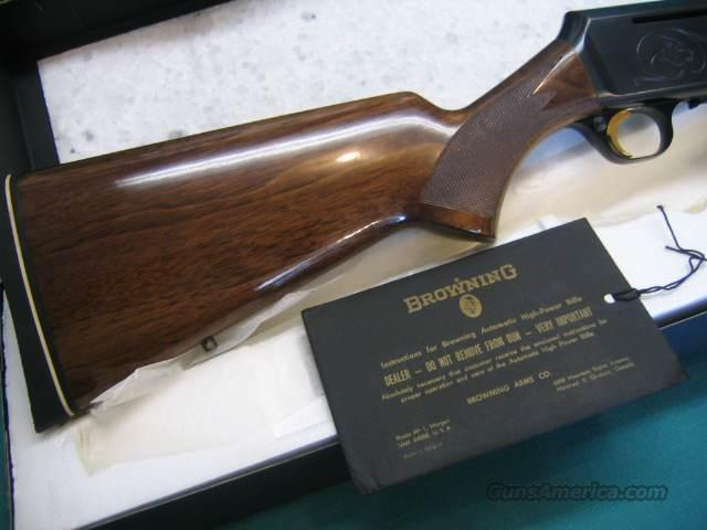 Browning BAR Grade II Belgium 1973 NIB 300 win mag.  Guns > Rifles > Browning Rifles > Semi Auto > Hunting