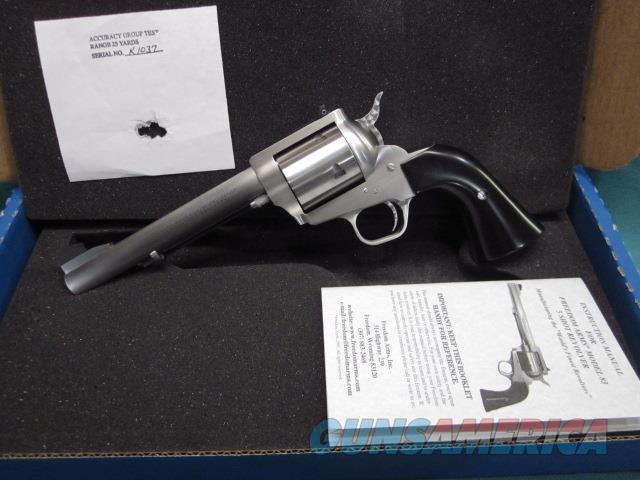 """Freedom Arms model 83 Premier .475 Linebaugh  6 1/2"""" New in box  Guns > Pistols > Freedom Arms Pistols"""