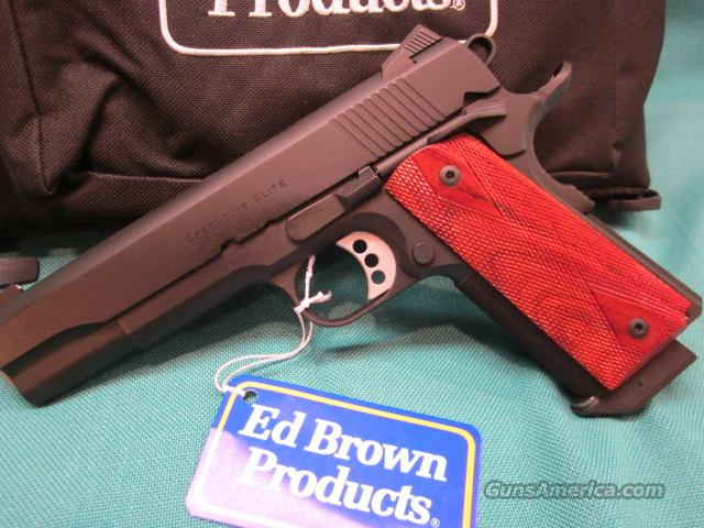 Ed Brown Executive Elite 45acp NIB  Guns > Pistols > Ed Brown Pistols