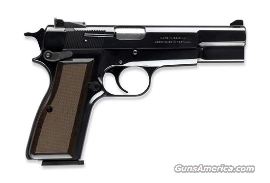 Browning Hi-Power 75th Anniversary Mdl.adj sights  Guns > Pistols > Browning Pistols > Hi Power