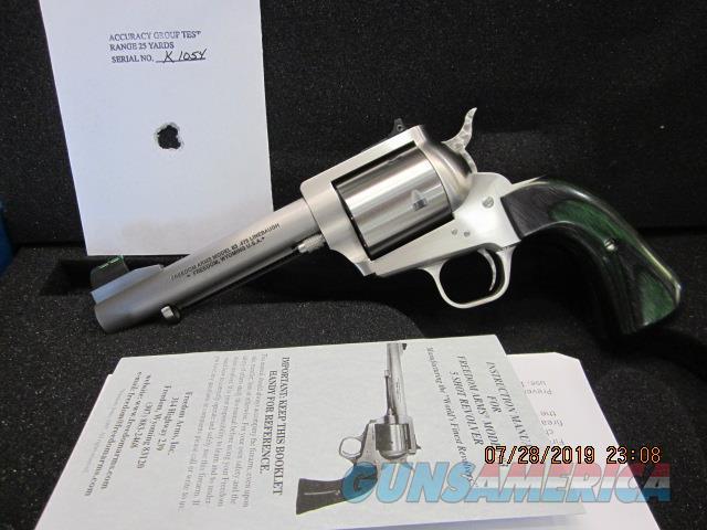 "Freedom Arms Model 83 Premier.475 Linebaugh custom 5 1/4"" Round butt NIB  Guns > Pistols > Freedom Arms Pistols"