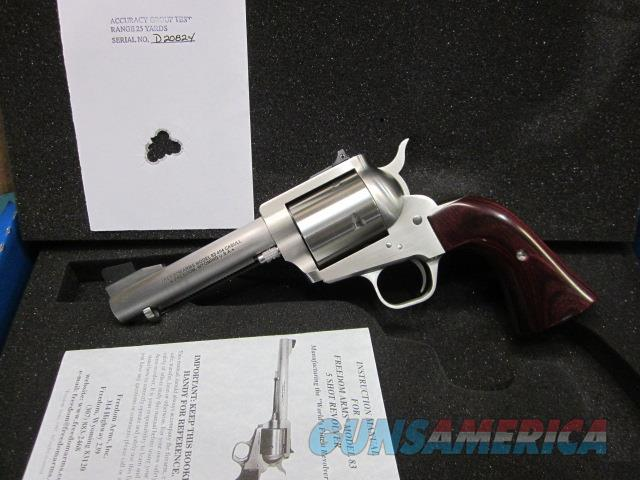 "Freedom Arms Model 83 Premier .454 Casull 4 3/4"" NIB  Guns > Pistols > Freedom Arms Pistols"