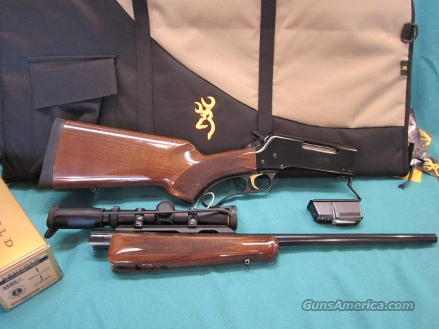 Browning BLR LWT .308 pistol grip TAKEDOWN Package New with case & scope  Guns > Rifles > Browning Rifles > Lever Action