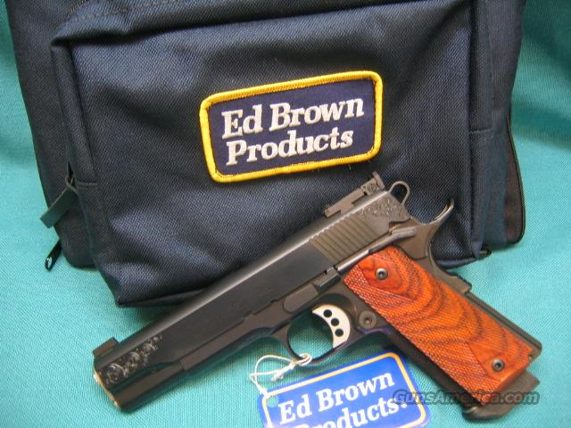 Classic Custom ENGRAVED limited Ed.  Guns > Pistols > Ed Brown Pistols