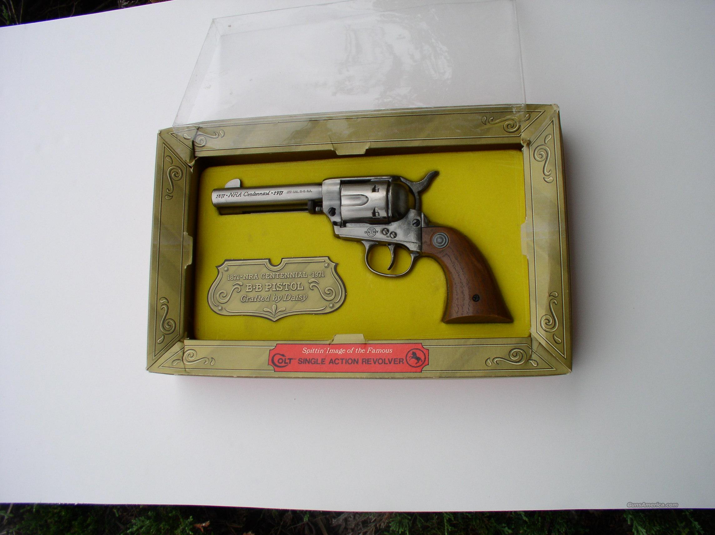 DAISY NRA CENTENNIAL BB PISTOL  Non-Guns > Air Rifles - Pistols > Other