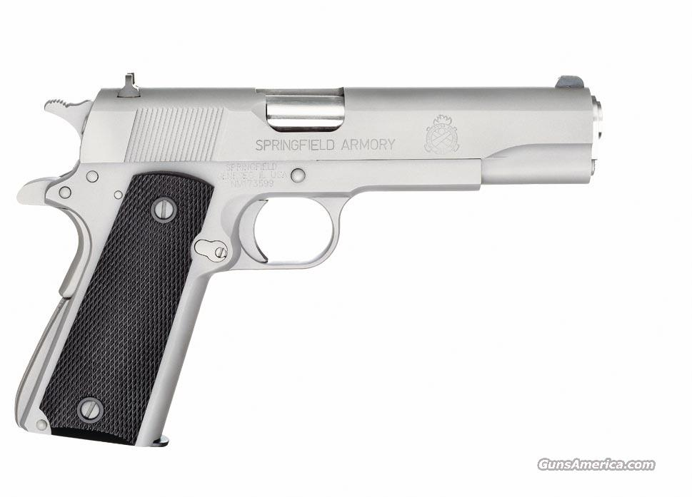 SPRINGFIELD 1911-A1 STAINLESS MIL-SPEC .45ACP  Guns > Pistols > Springfield Armory Pistols > 1911 Type