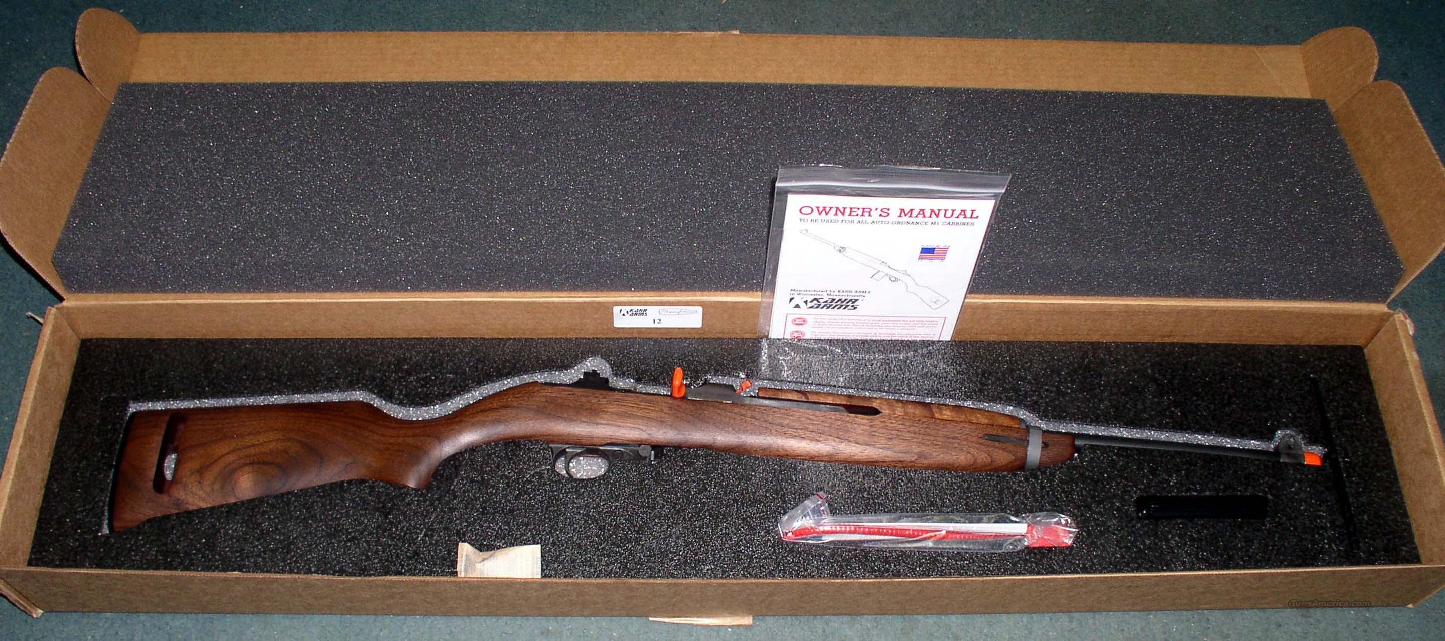 AUTO ORDINANCE  M1 CARBINE .30 CAL  Guns > Rifles > Auto Ordnance Rifles
